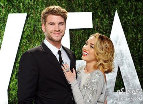 8.Miley Cyrus and Liam Hemsworth